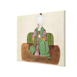 Ms 1971 Sultan Suleyman I Canvas Print