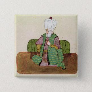 Ms 1971 Sultan Suleyman I Pinback Button