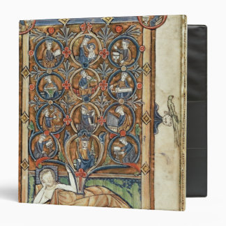 Ms 21926 The Tree of Jesse from a psalter 3 Ring Binder