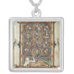 Ms 21926 The Tree of Jesse from a psalter Custom Necklace