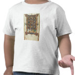 Ms 21926 The Tree of Jesse from a psalter Tshirt