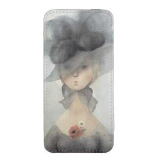 Ms. 2597 Desire kneels in front of Honour implorin iPhone 5 Pouch