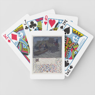 Ms. 2597 Heart, Desire and Generosity land in the Bicycle Playing Cards