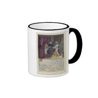 Ms. 2597 King Rene dreams: The God of Love steals Ringer Coffee Mug