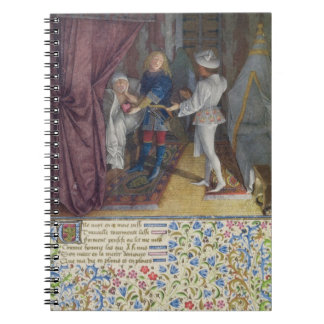 Ms. 2597 King Rene dreams: The God of Love steals Notebook
