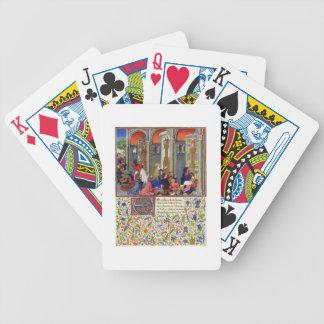 Ms 2617 Arcitas praying to Mars, Palemon praying t Bicycle Playing Cards