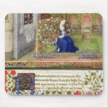 Ms 2617 Emilia in her garden, Plate 22, from 'La T Mouse Pad