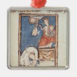 Ms 3516 f.127 el juglar de Notre Dame Ornamento Para Arbol De Navidad