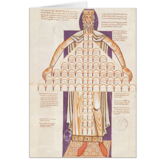 Ms 354 fol.256v Tree of Consanguinity Card