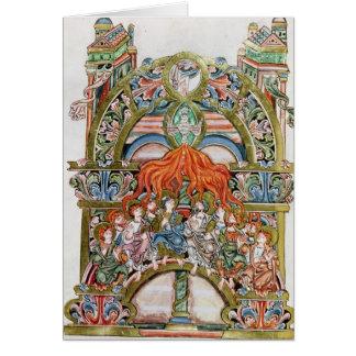 Ms 369  f.29v Pentecost Cards