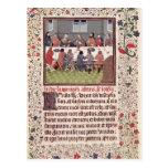 Ms 370 fol.184 la última cena tarjeta postal