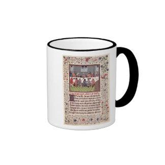 Ms 370 fol.184 The Last Supper Ringer Mug