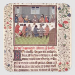 Ms 370 fol.184 The Last Supper Stickers