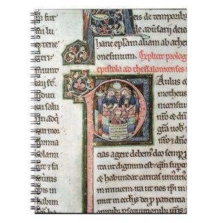 Ms 3 Fol. 291v el escape de Saint Paul de Damas Cuadernos