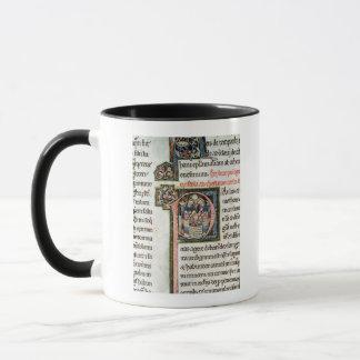 MS 3 Fol. 291v The Escape of Saint Paul from Damas Mug