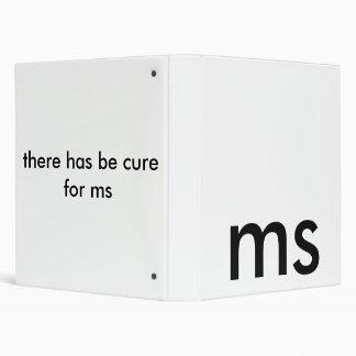 ms 3 ring binder