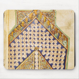 Ms 476 fol.233 Page from a Bible Mousepad