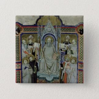Ms 501 St. Benedict (vellum) Pinback Button