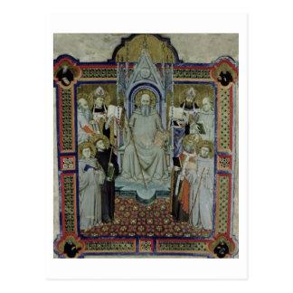 Ms 501 St. Benedict (vellum) Postcard