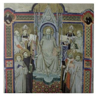 Ms 501 St. Benedict (vellum) Tile