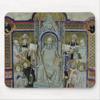 Ms 501 St. Benedicto (vitela) Alfombrillas De Raton