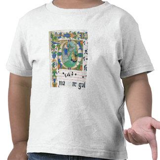 Ms 515 f.1r el proyecto milagroso de pescados, de camiseta