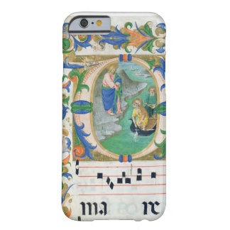 Ms 515 f.1r The Miraculous Draught of Fishes, from Barely There iPhone 6 Case