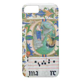 Ms 515 f.1r The Miraculous Draught of Fishes, from iPhone 8/7 Case