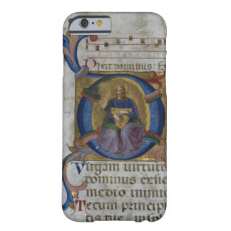 Ms 531 f.169v Historiated initial 'D' depicting Ki Barely There iPhone 6 Case