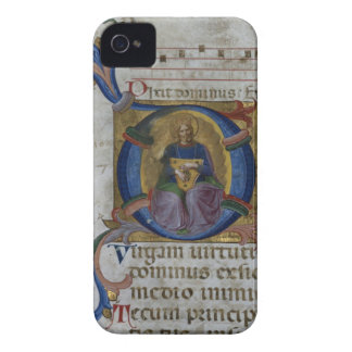 Ms 531 f.169v Historiated initial 'D' depicting Ki Case-Mate iPhone 4 Case