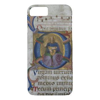 Ms 531 f.169v Historiated initial 'D' depicting Ki iPhone 8/7 Case