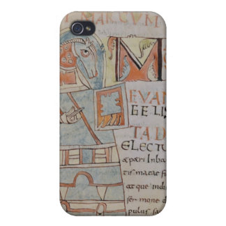 Ms 8 f.42 St. Mark the Evangelist iPhone 4 Cases