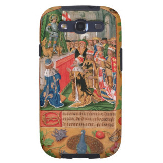 Ms Add 25698 f.3 Illuminated page from a Book of H Samsung Galaxy S3 Case