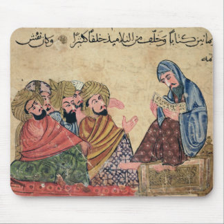 MS Ahmed III 3206 The Philosopher Mouse Pad