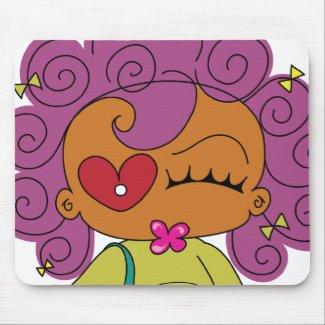 Ms. Attitude Mousepad mousepad