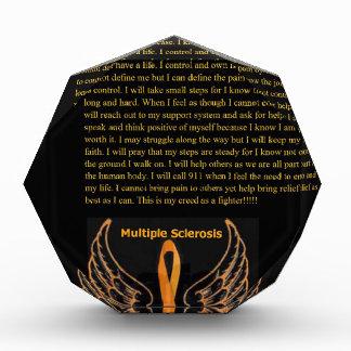 MS Awareness 2a.jpg Acrylic Award