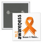 MS Awareness 5 Pinback Button