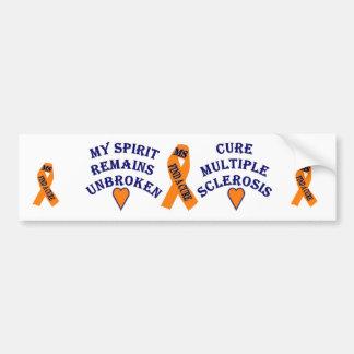 MS Awareness Bumper Sticker