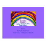 MS Awareness & Education Postcards