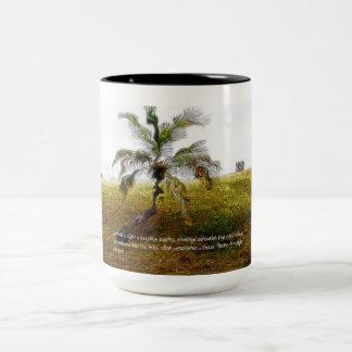 MS Awareness - Lhermittes Two-Tone Coffee Mug