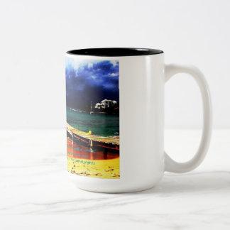 MS Awareness - Optic Neuritis Two-Tone Coffee Mug