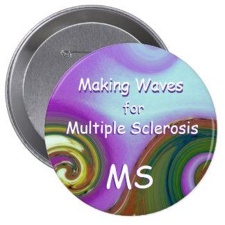 MS Awareness Pin