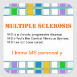 MS Awareness Stickers for Multiple Sclerosis