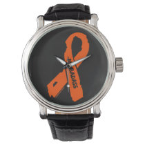 MS BADASS/ torn ribbon Wristwatch