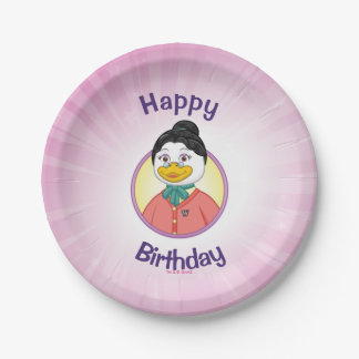 Ms. Birdy Paper Plate