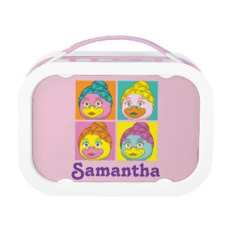 Ms. Birdy Pop Art Lunch Box
