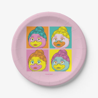 Ms. Birdy Pop Art Paper Plate
