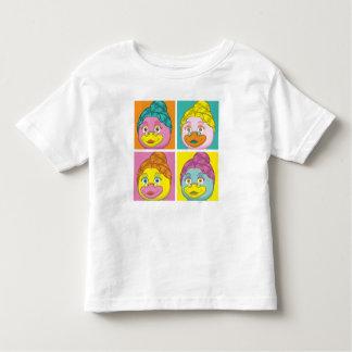 Ms. Birdy Pop Art T-shirt