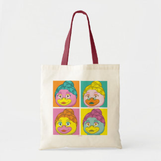 Ms. Birdy Pop Art Tote Bag
