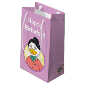 Ms. Birdy Small Gift Bag at Zazzle
